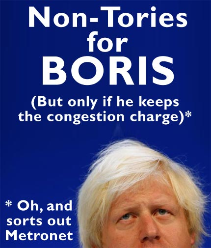 Non-Tories for Boris