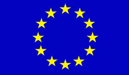 The lovely EU flag